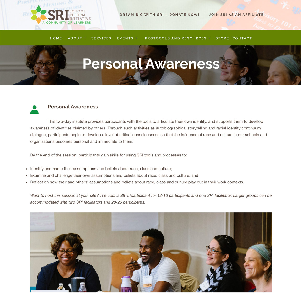 Personal Awareness