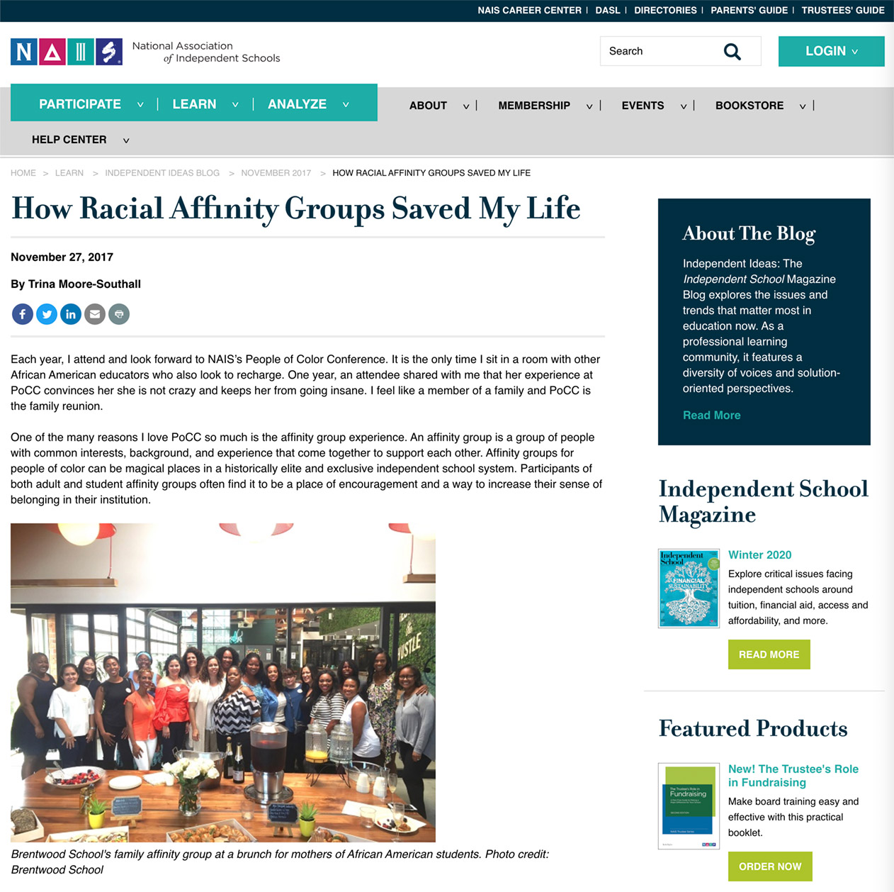 How Racial Affinity Groups Saved My Life