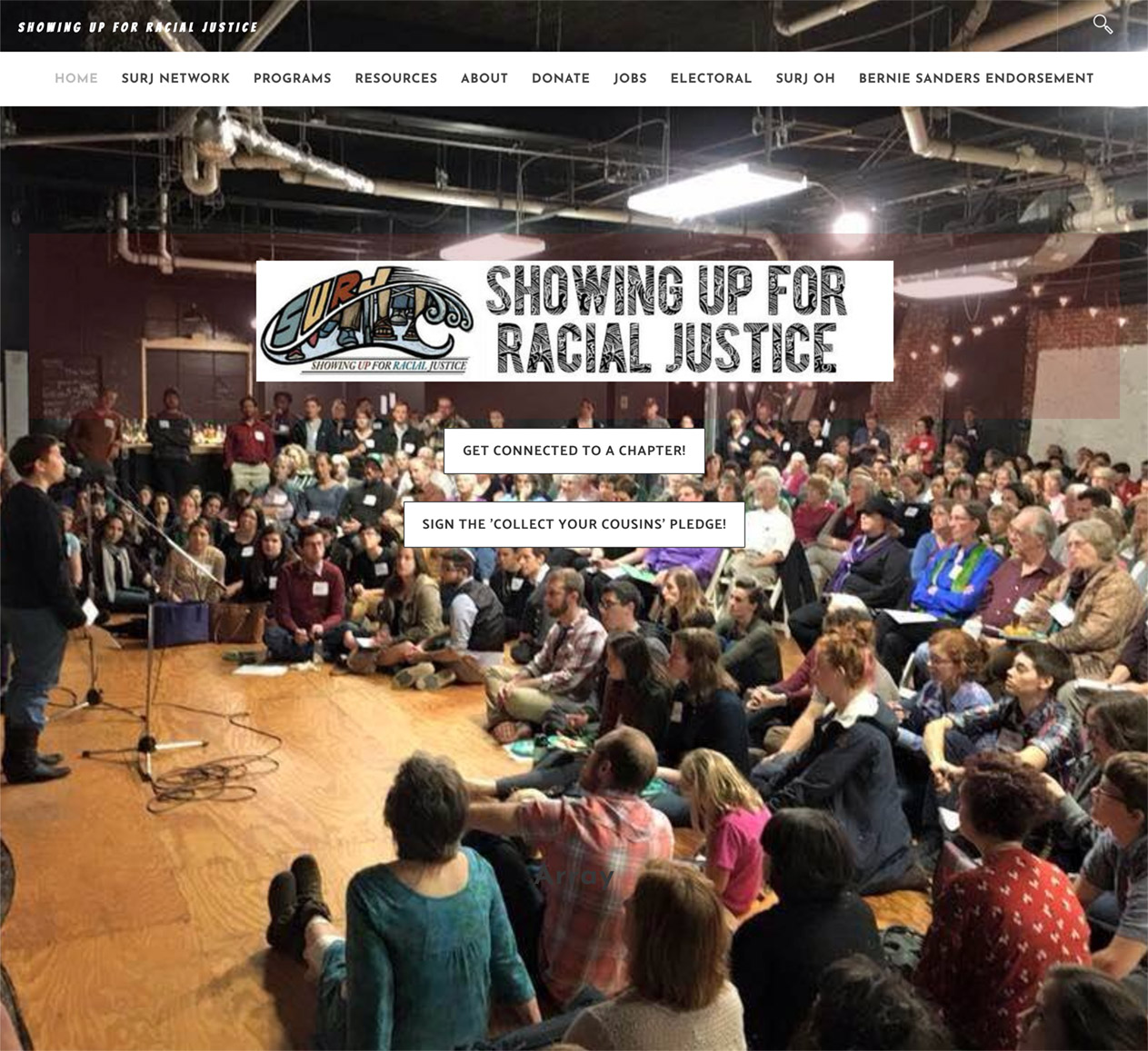Showing Up for Racial Justice (SURJ)