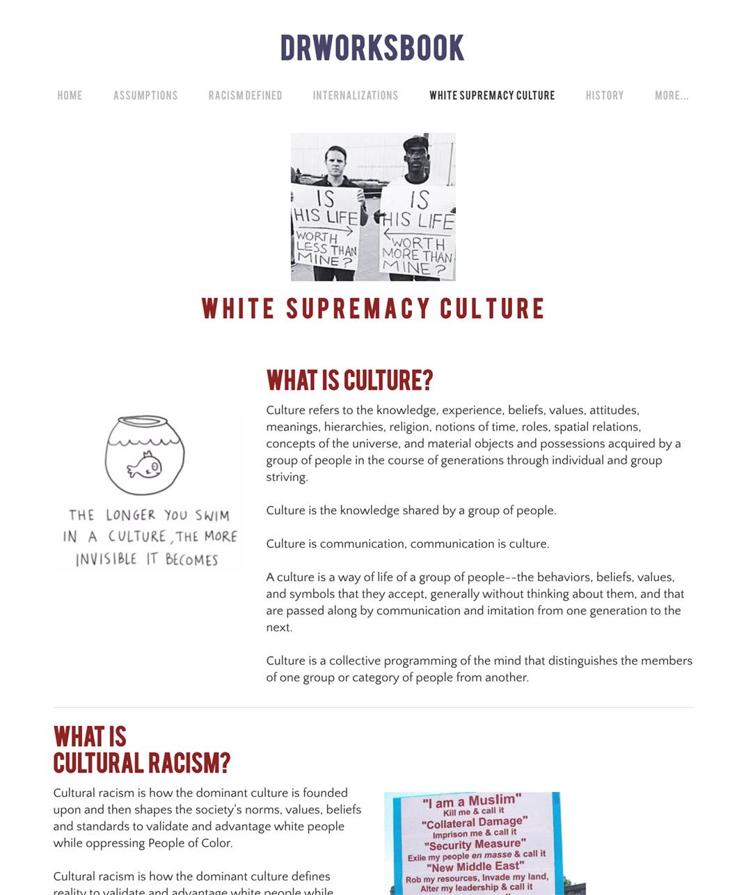 White Supremacy Culture