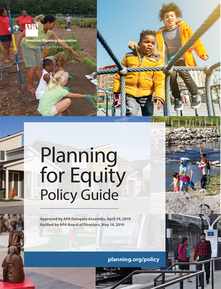 Planning for Equity Policy Guide