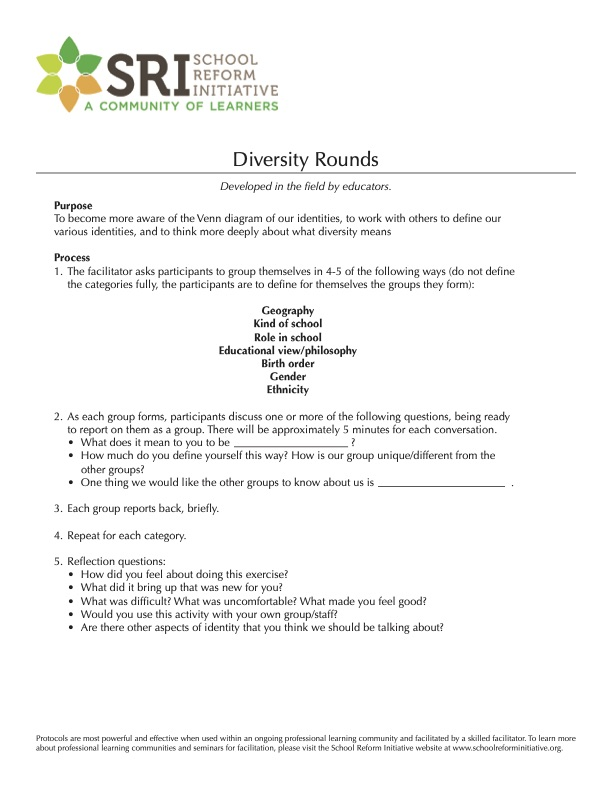 Diversity Rounds