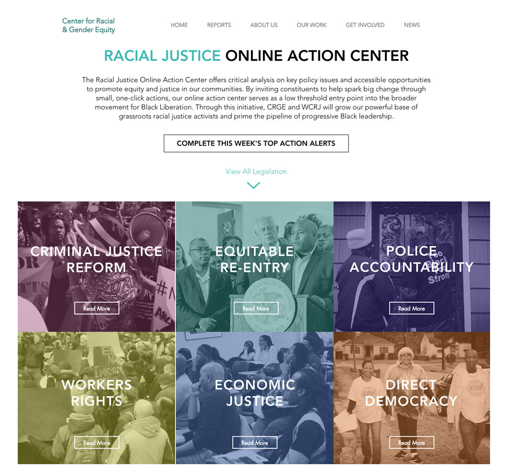 Racial Justice Online Action Center