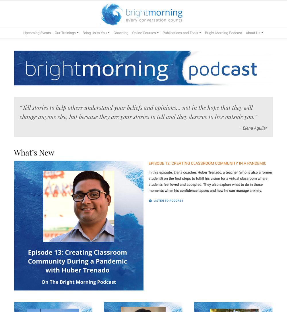 Bright Morning Podcast