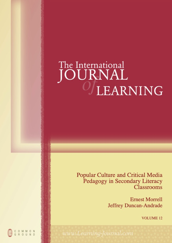 Popular Culture and Critical Media Pedagogy in Secondary Literacy Classrooms