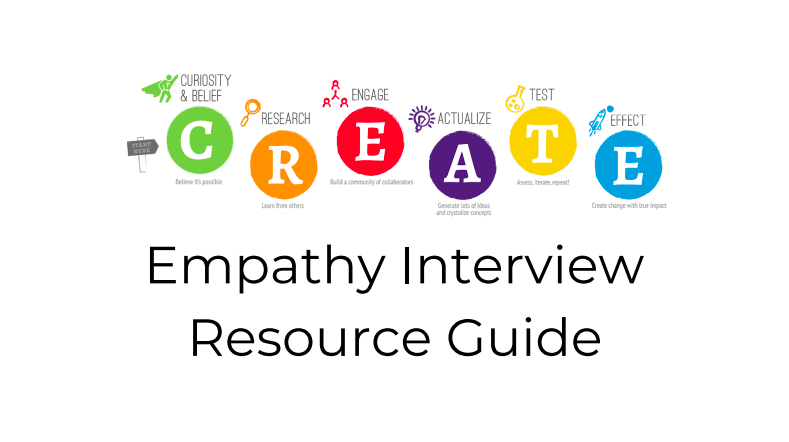 Empathy Interview Resource Guide | CAMBIAR Education