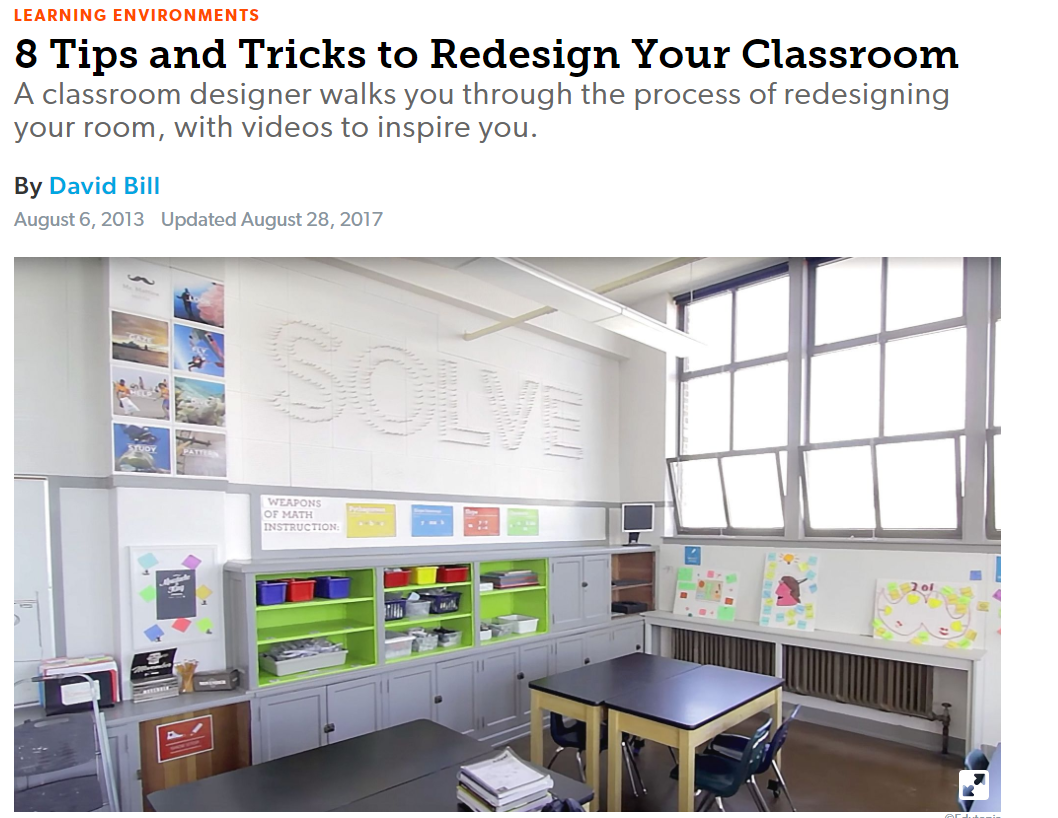 8 Tips and Tricks to Redesign Your Classroom