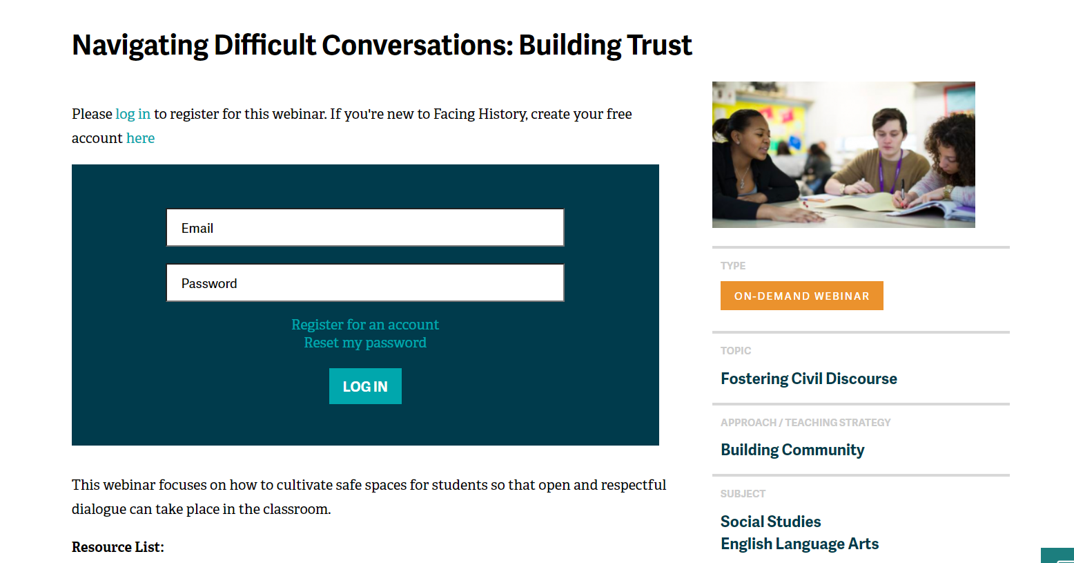 Navigating Difficult Conversations: Building Trust
