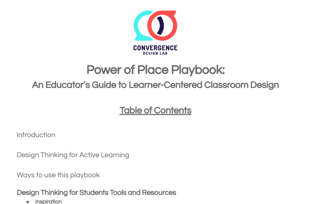 Power of Place Playbook