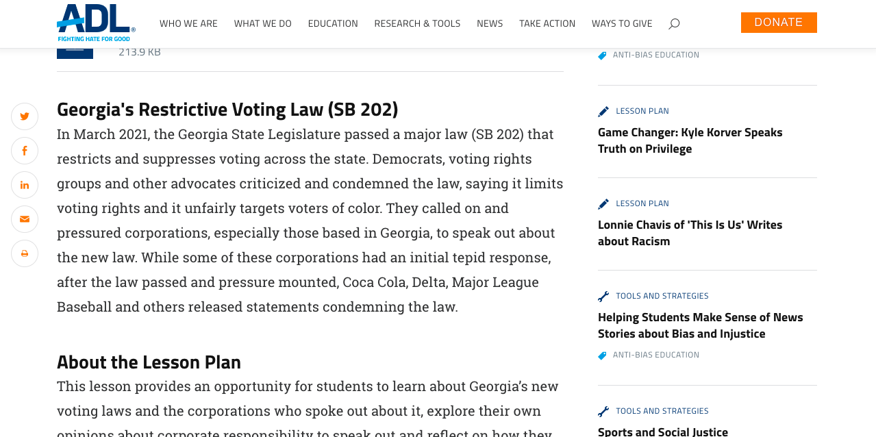 Should Corporations Speak Out on Voter Suppression Laws and Other Injustices?