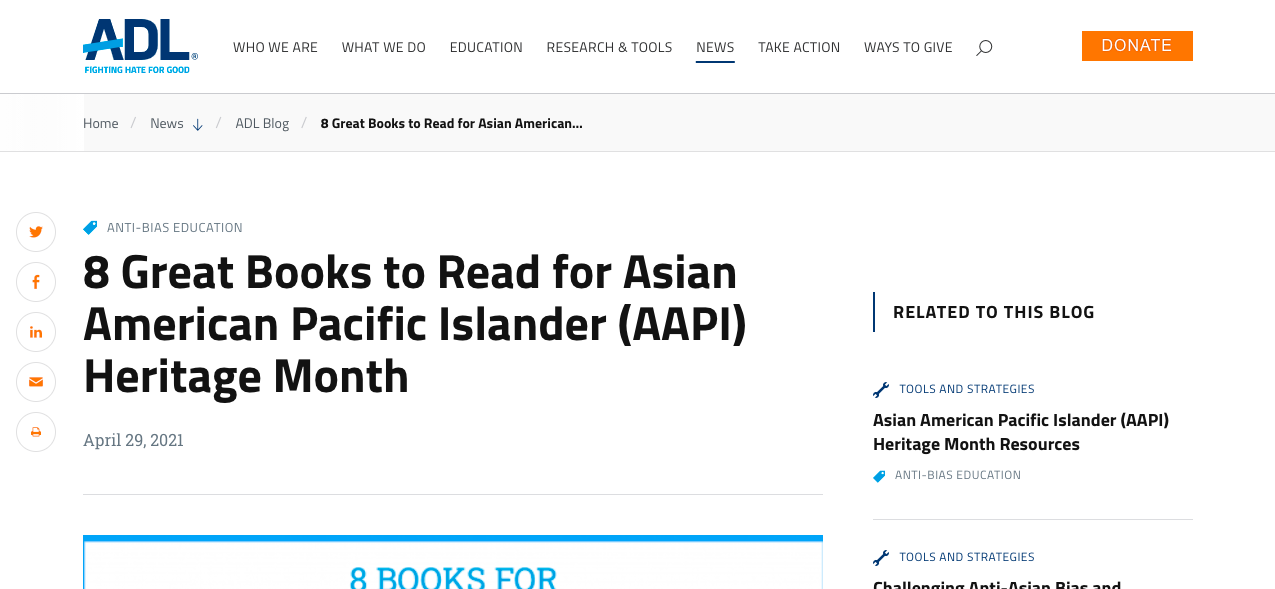 8 Great Books to Read for Asian American Pacific Islander (AAPI) Heritage Month