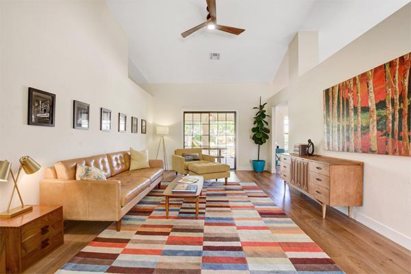 las vegas home interior living room