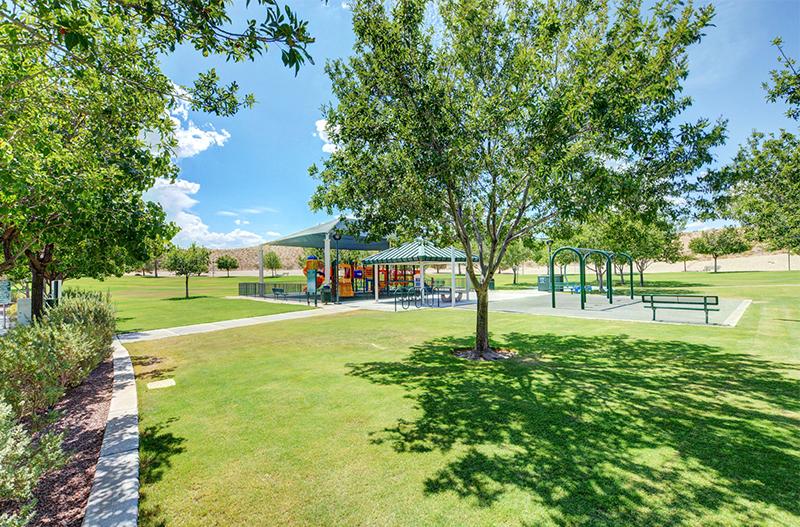 las vegas community outdoor park area