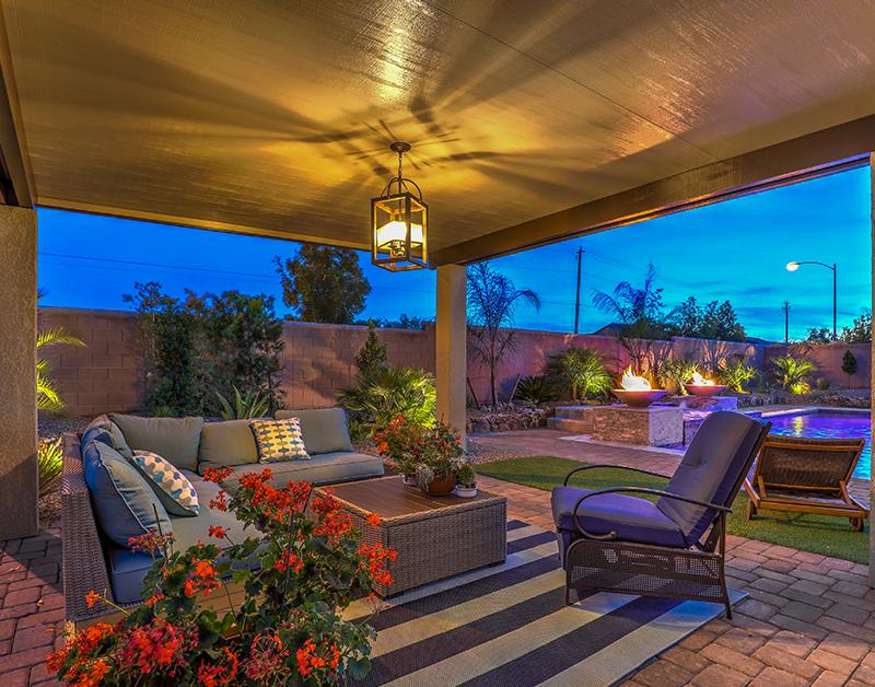 Las Vegas house exterior patio furniture