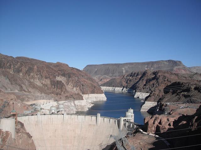 lake mead water shortage, hoover dam, las vegas