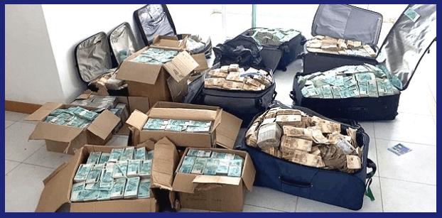 Malas de dinheiro Geddel Vieira
