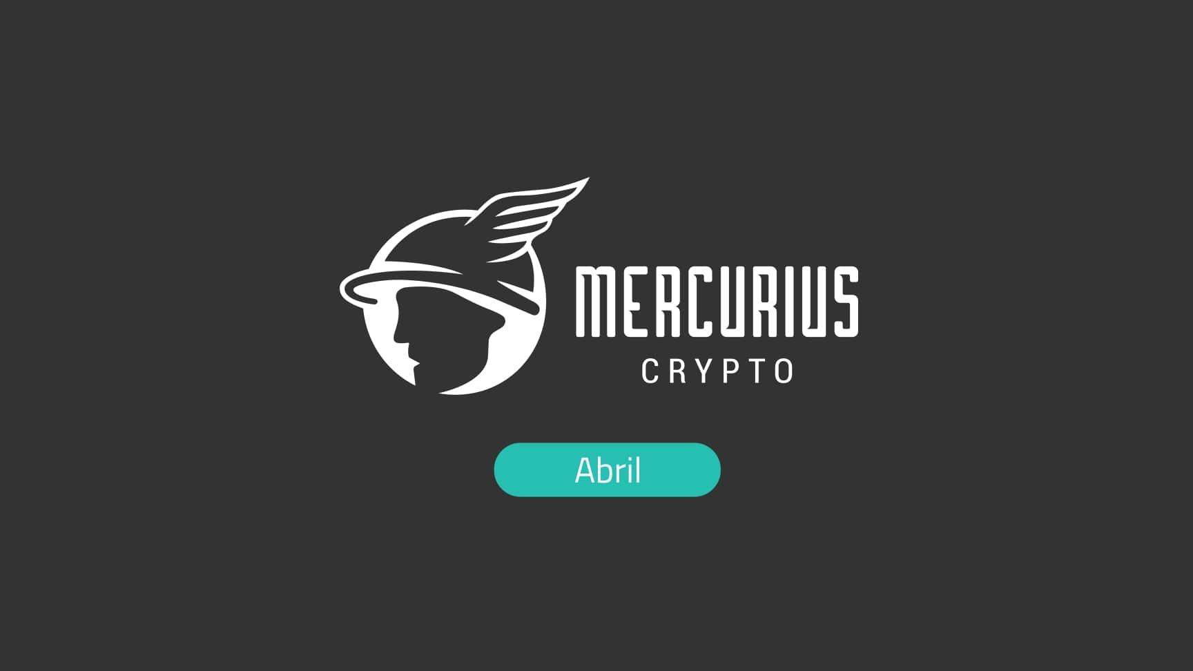As atualizações mais importantes de criptos: Report da Mercurius de abril