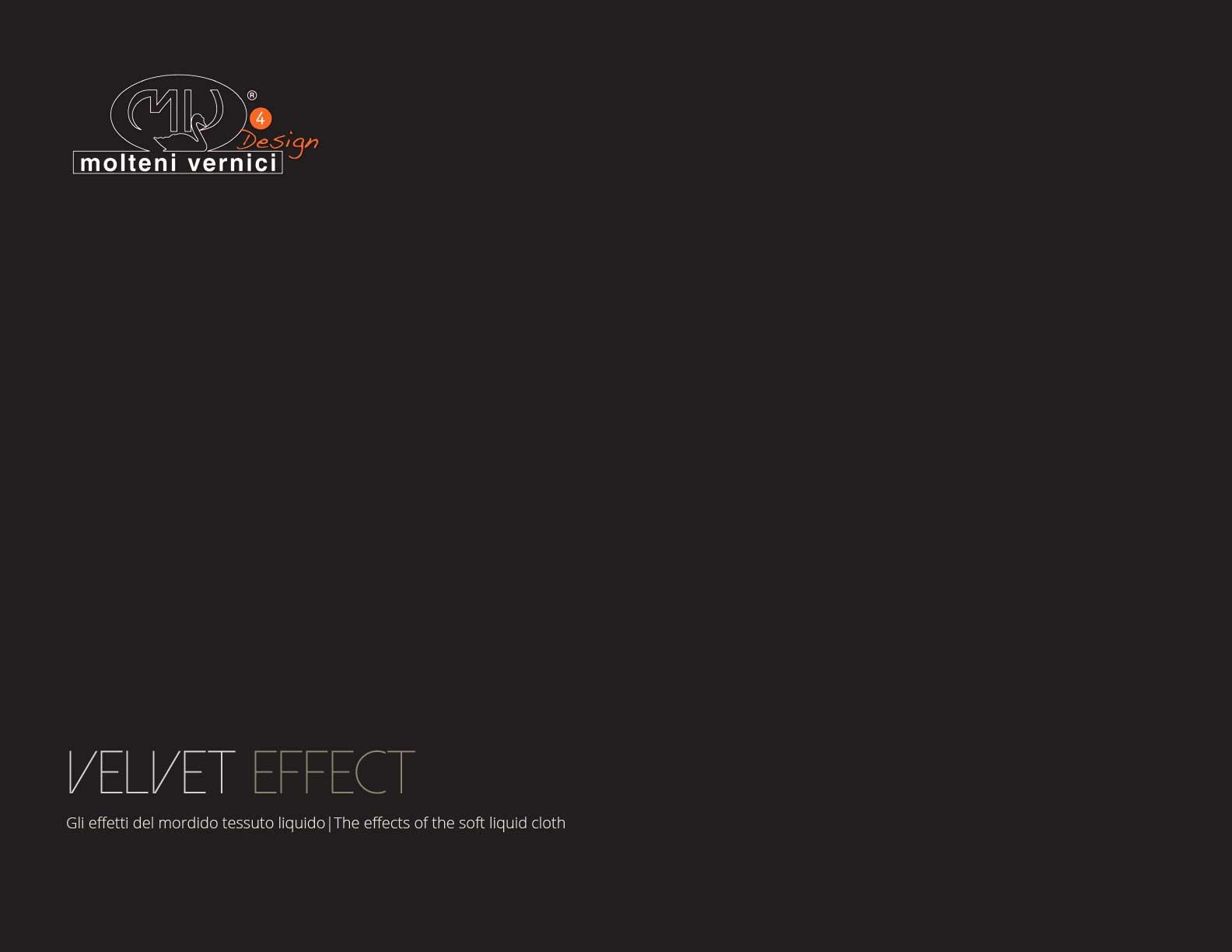 varnish effect velvet