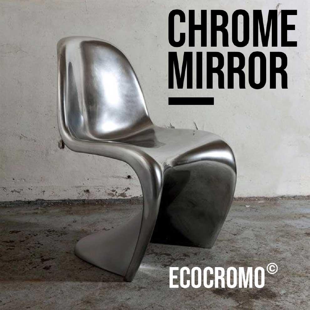 Mirrored Chromed Effect EcoChrome