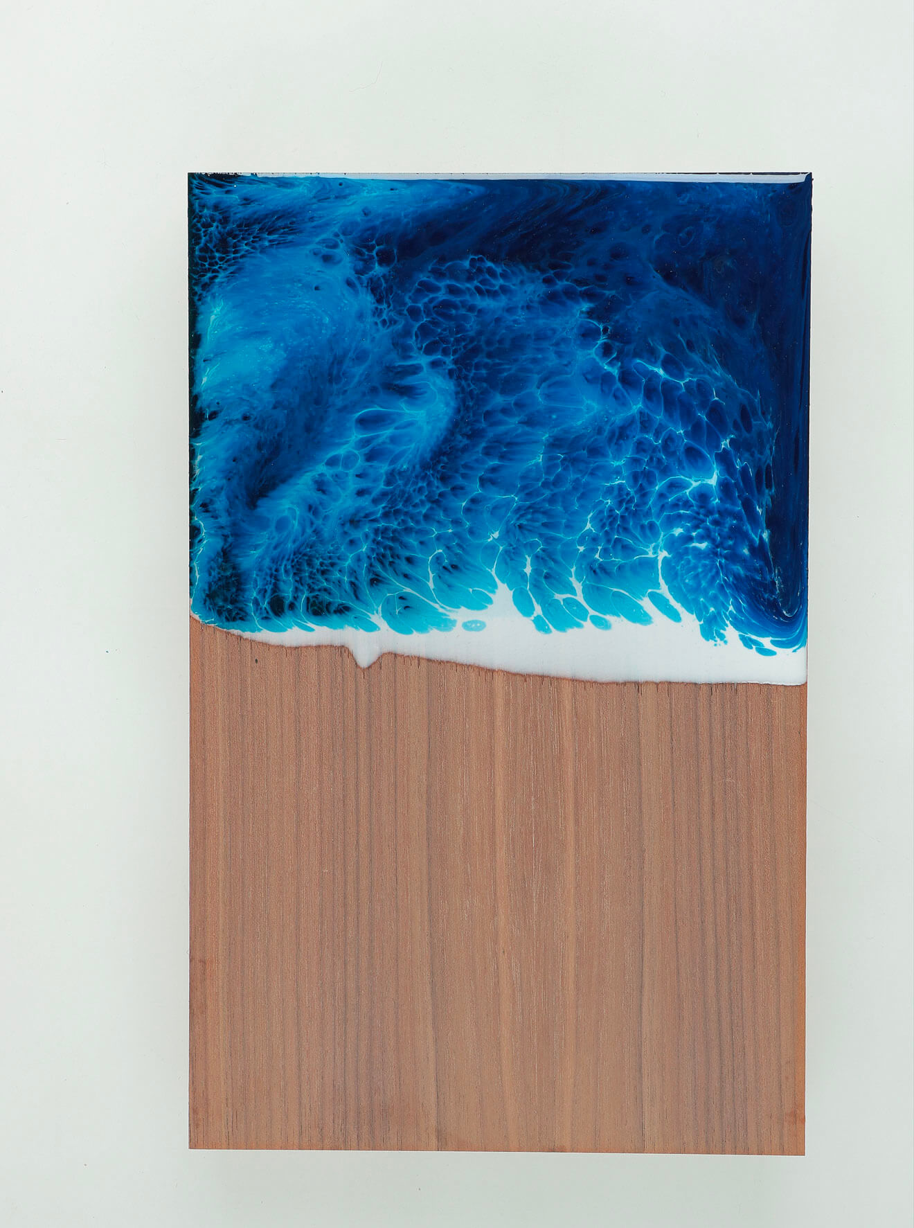 WUNDAA™ Blu Agata su legno