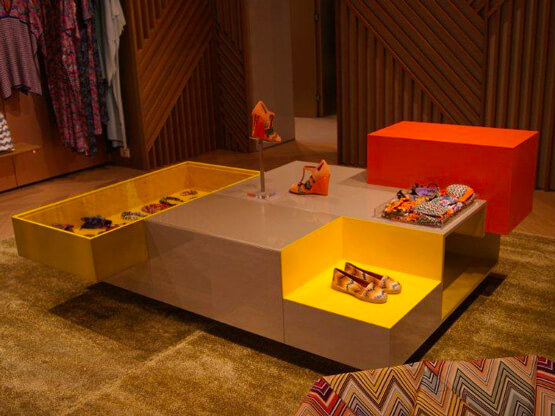 Smalti Lucidi, Design Retail
