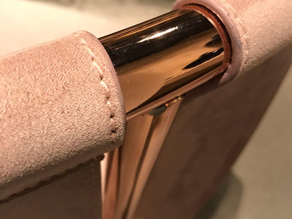 Smalto Nanogalvanic Oro Rosa, Dettaglio Applicativo.