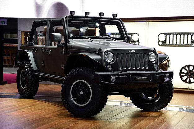 Smalto Materico, Applicazione Jeep Wrangler.
