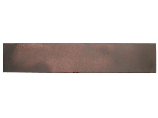 Smalto Materico Ferro Vecchio, Applicazione su Alluminio.