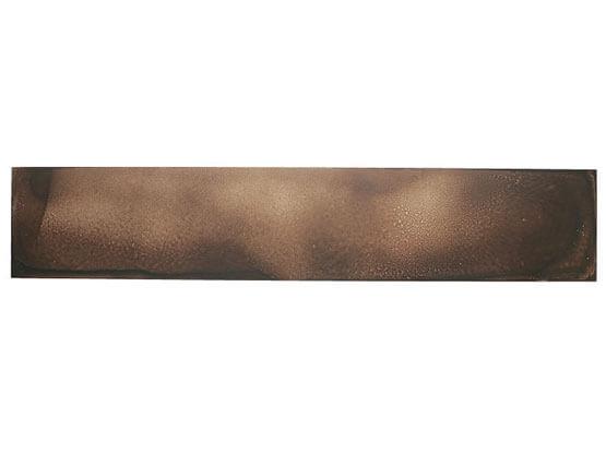 Smalto Materico Bronzo, Applicazione su Alluminio.