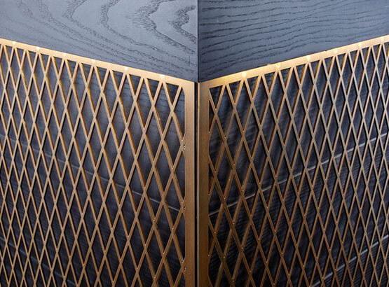Smalto Luxury Oro, Applicazione di Design.