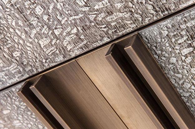 Layer Macao, Applicazione su Alluminio Trafilato.