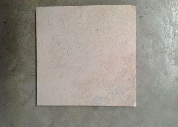 Smalto Termosensibile su Pietra Calcarea a 35°C.
