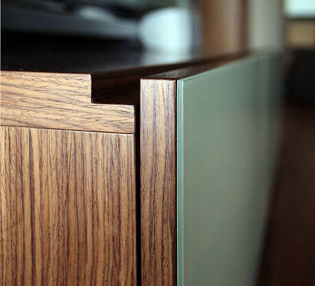 NK Solid Surface, Pensile Cucina.