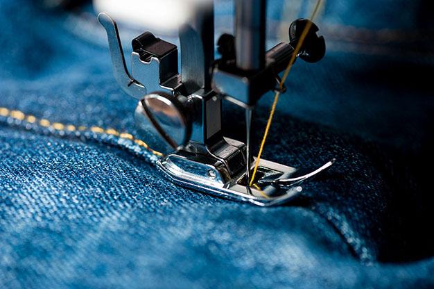 Finitura Effetto Jeans, Dettaglio.