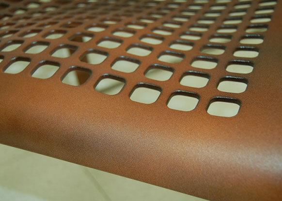 Materico Corten su Supporto in Plastica.