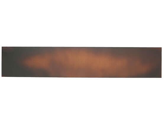 Materico Corten B, Applicazione su Alluminio.