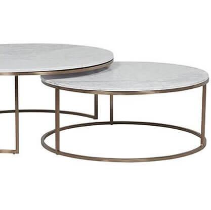 Trasparente Opaco FF-420 su Tavolini.