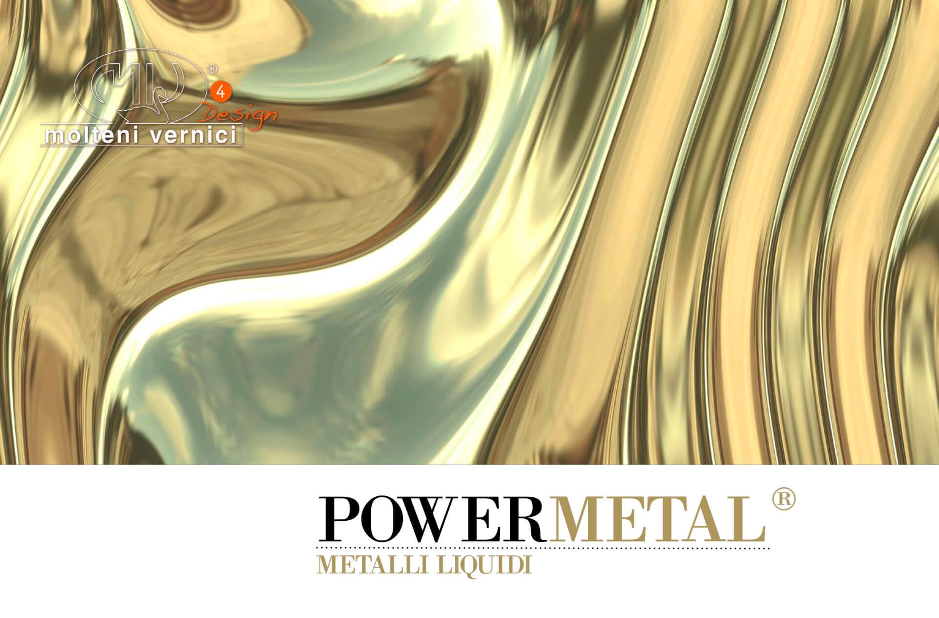 Esmalte de Efecto metal Líquido brillo
