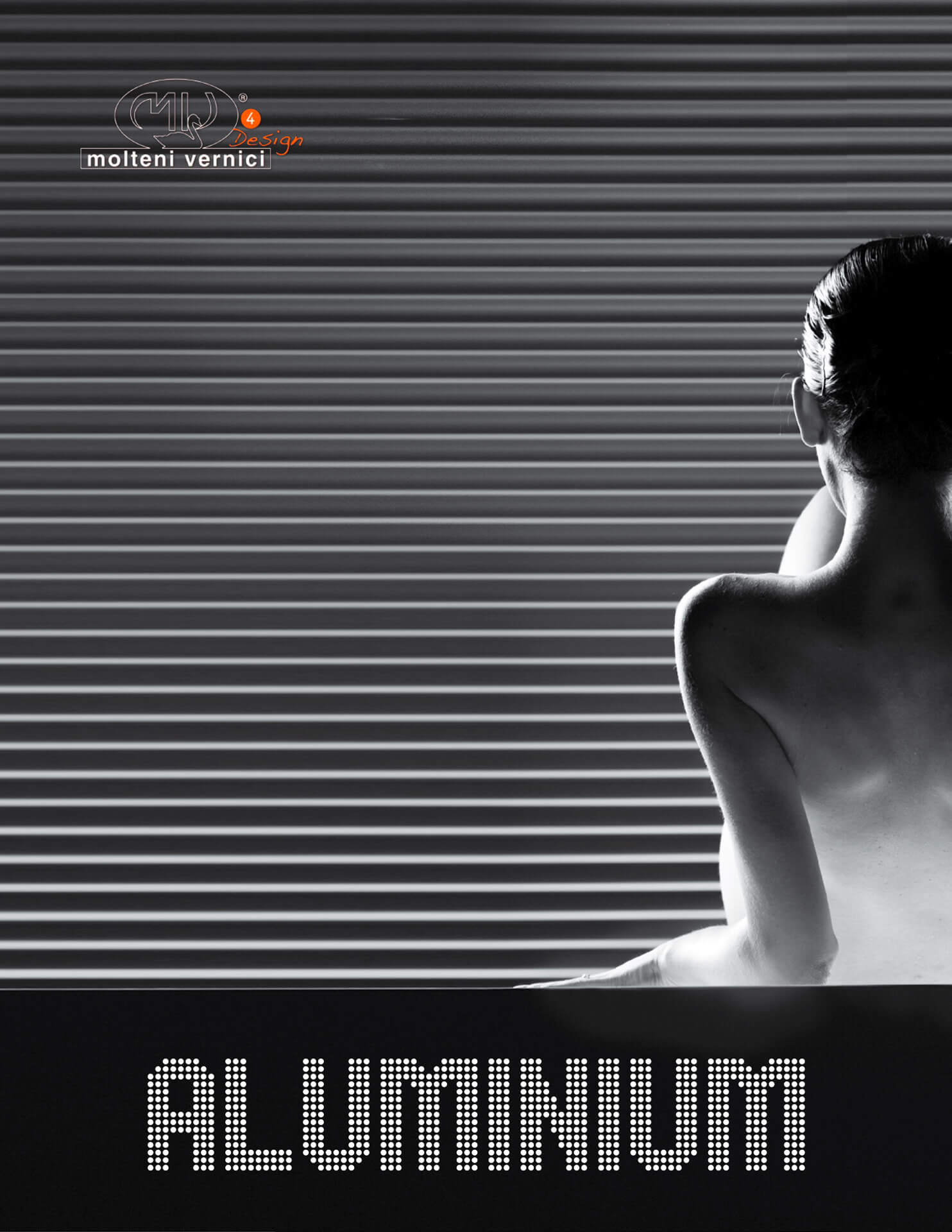 Lack des Satzes Aluminium