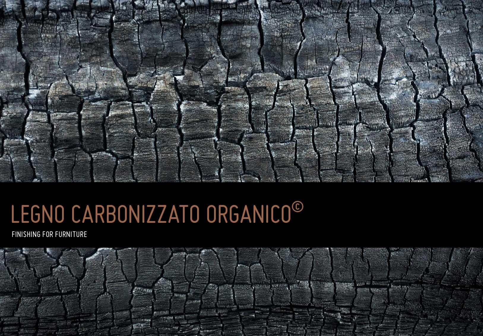 Organisches Karbonisiertes Holz