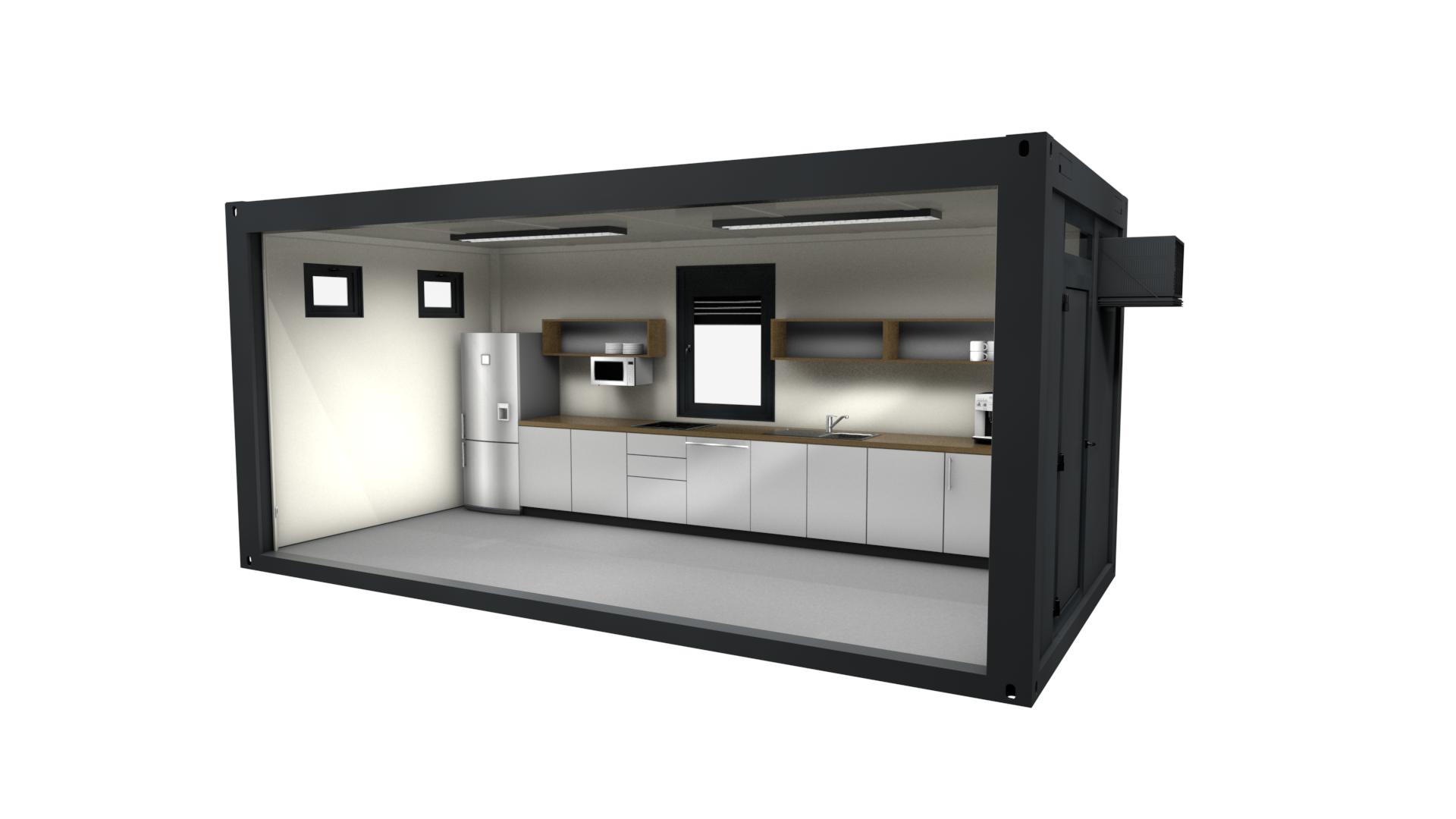 Premium Container 16 - Ansicht 1