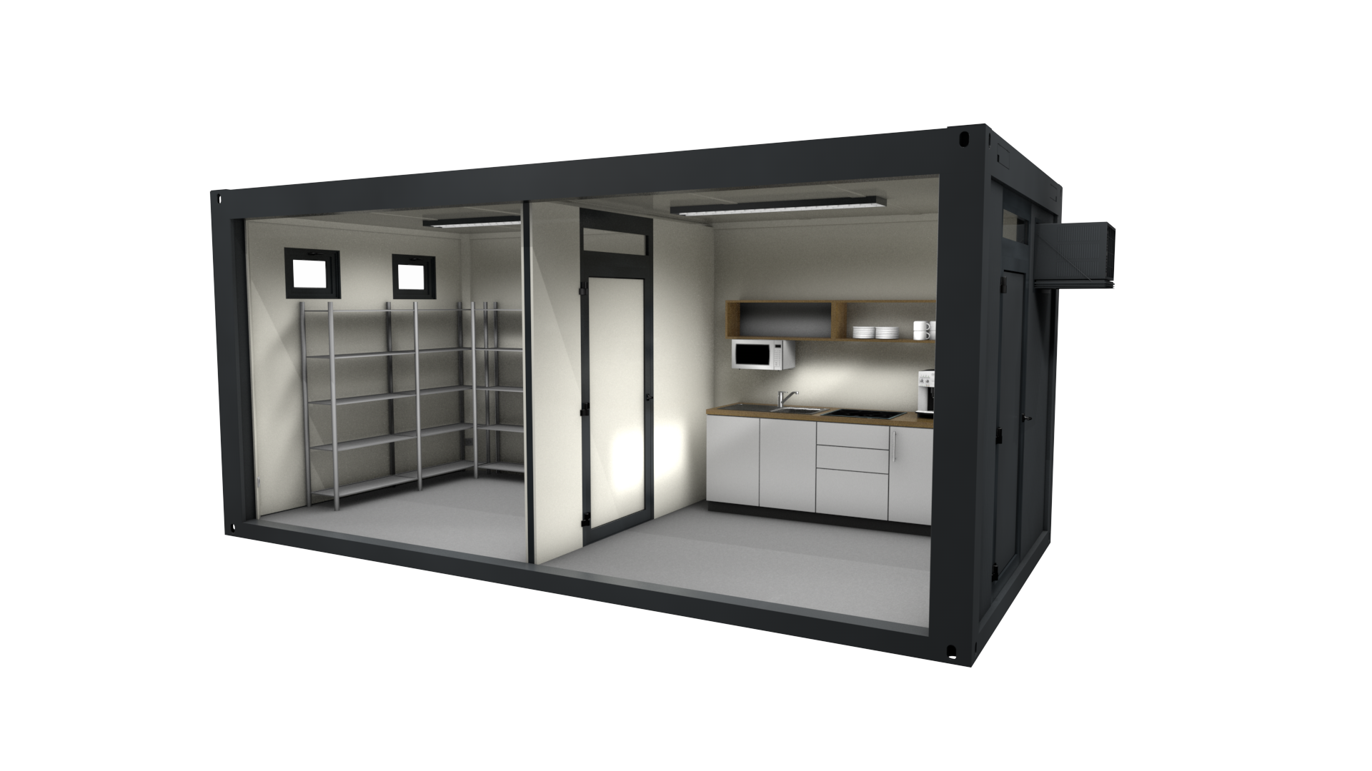 Premium Container 17 - Ansicht 1