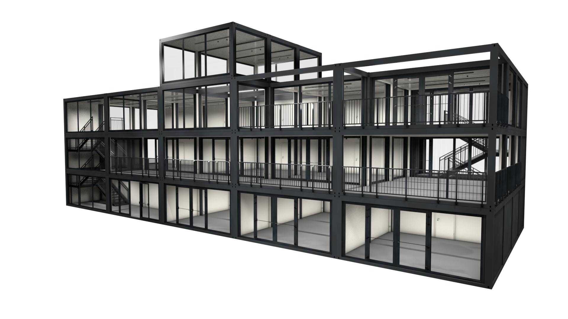 Premium Container M 37 - Ansicht 1