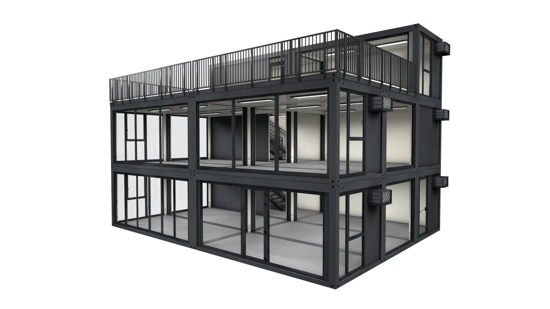 Premium Container M 41 - Ansicht