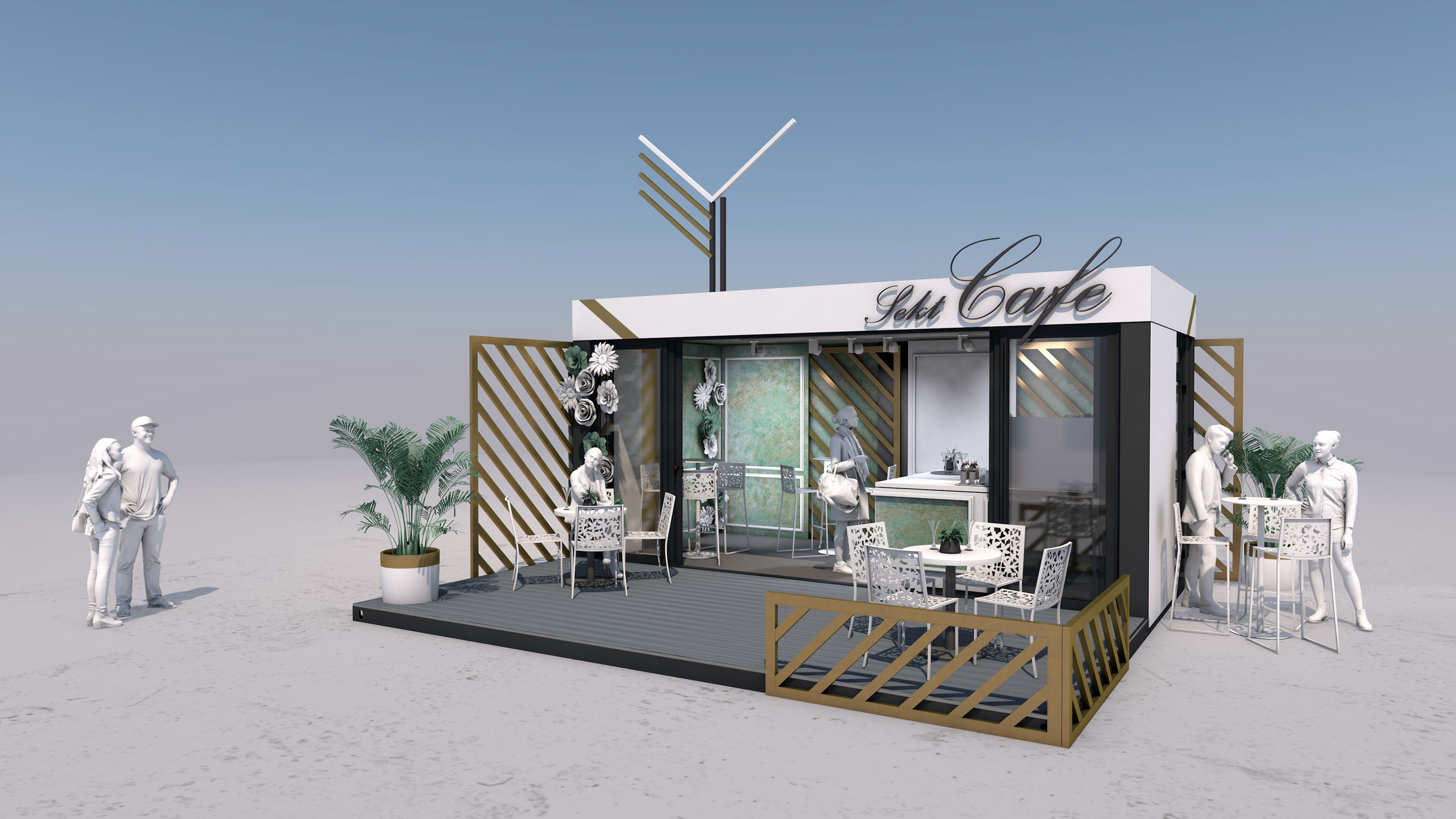 Event Container - Mobile Sektbar - 1