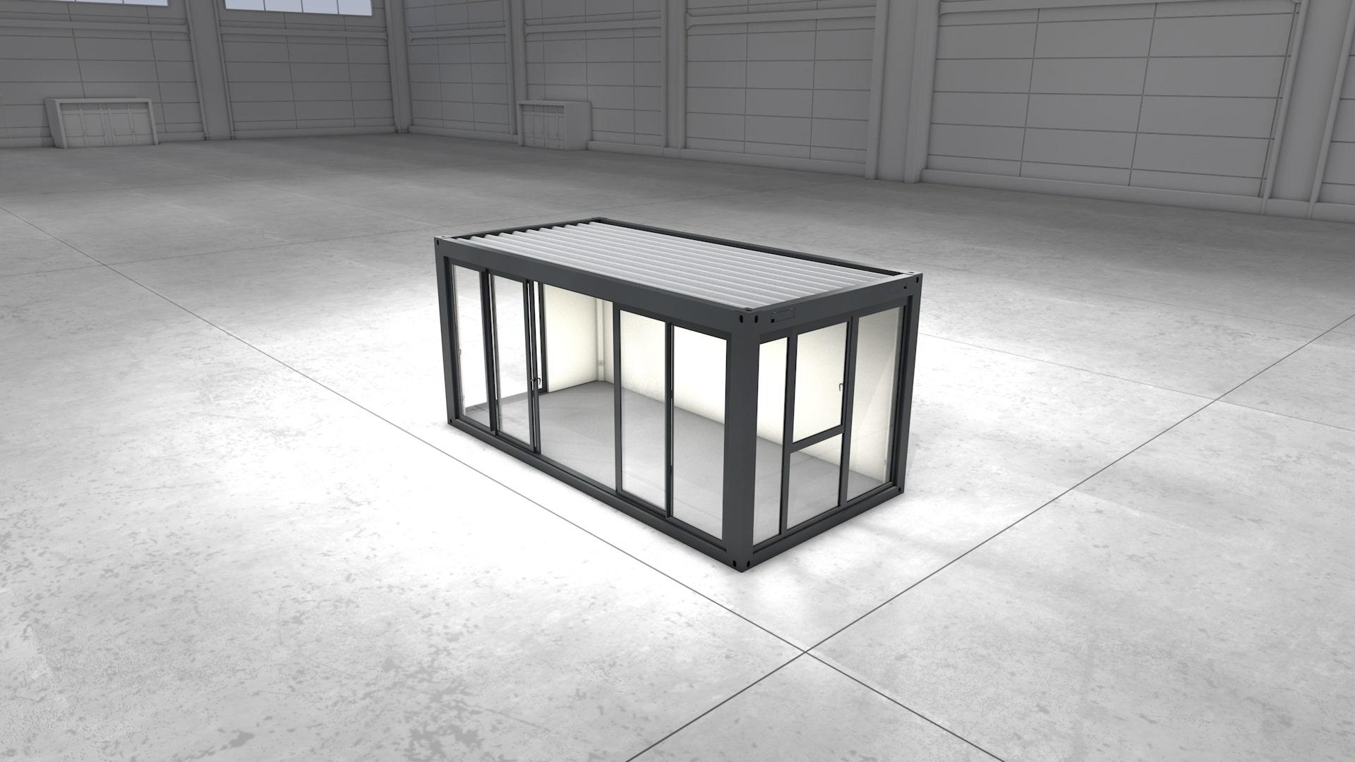 Container Modul 2 - Ansicht 1