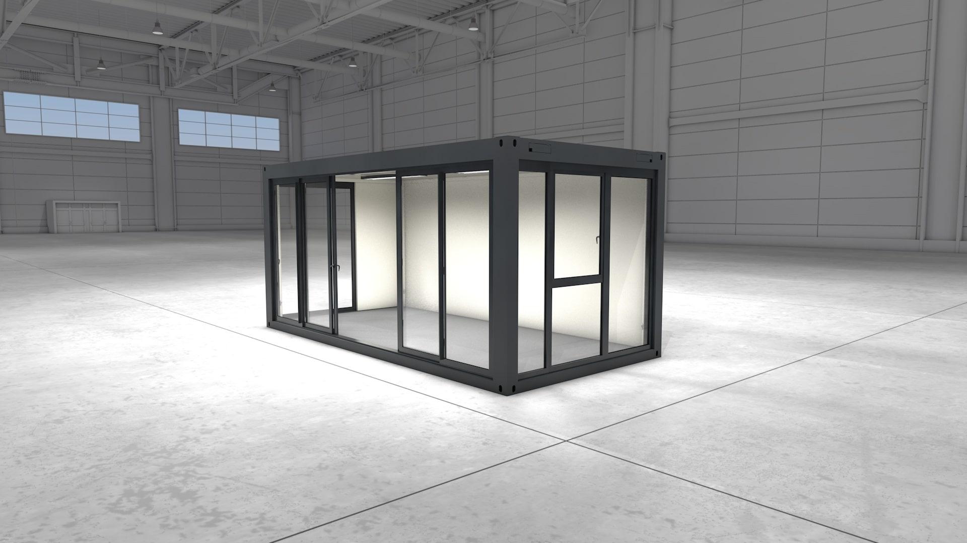 Container Modul 2 - Ansicht 2