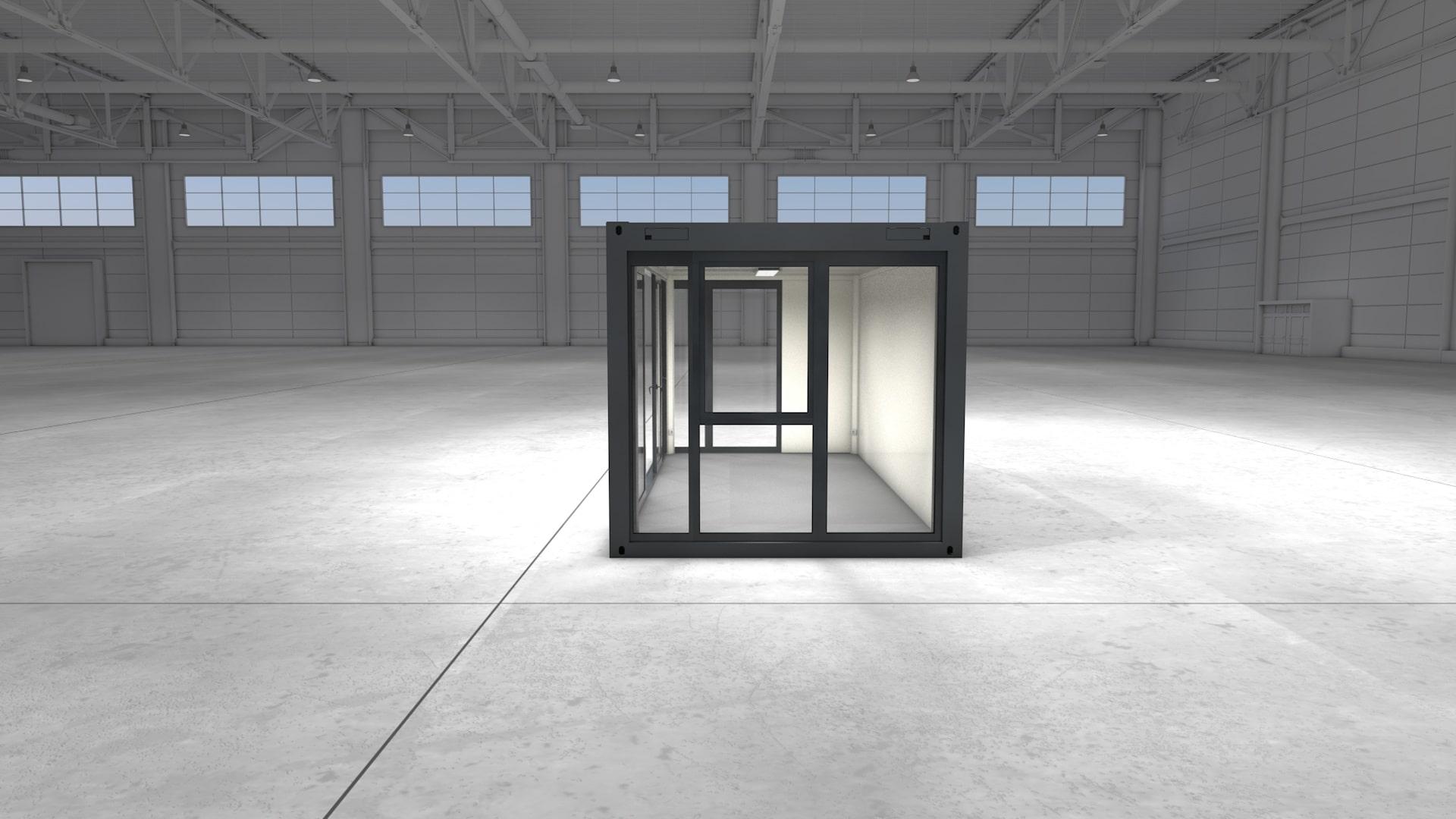 Container Modul 2 - Ansicht 3