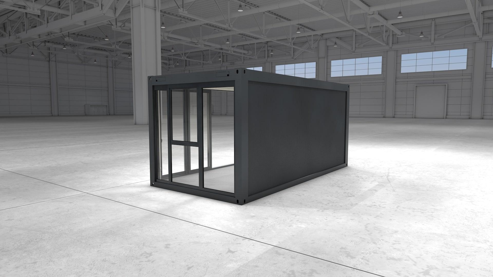 Container Modul 2 - Ansicht 4