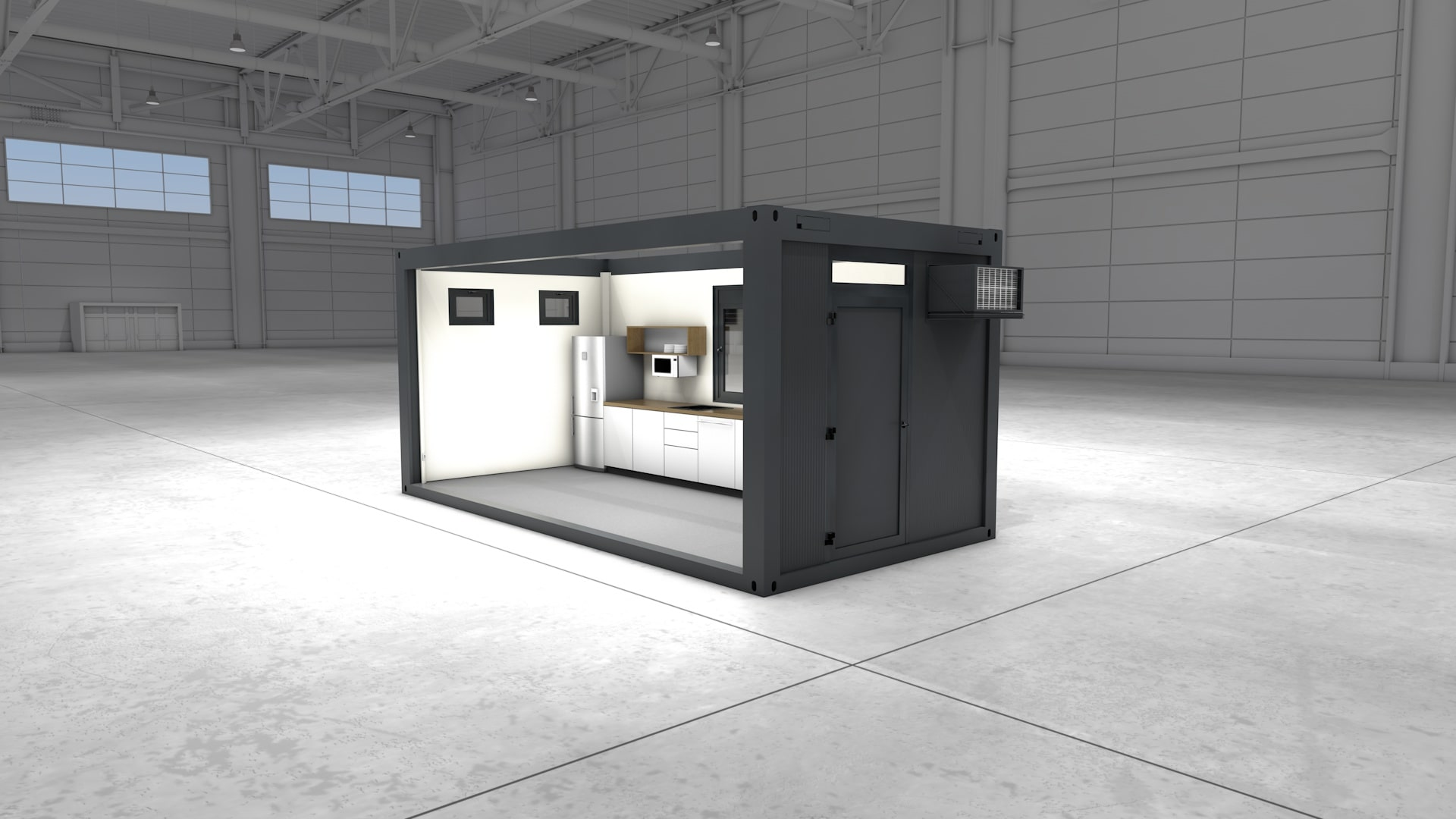 Container Modul 16 - Ansicht 2